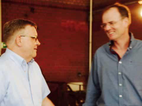 Michael Kluge und Jens Keller
